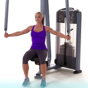 Precor Selectorized Rear Delt
