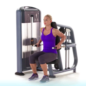 Precor Selectorized Seated Dip