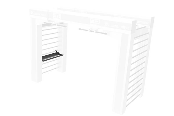 Queenax Horizontal Universal Shelf Storage Optional