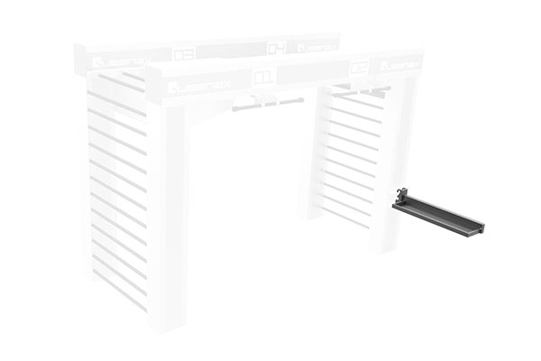 Queenax Lateral Universal Shelf Storage Optional
