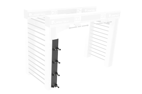 Queenax Vertical Disc Shelf Storage Optional