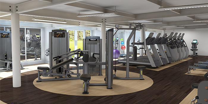 Gym design precor uk