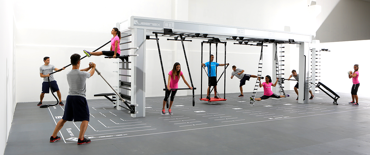 Reasons Queenax Functional Training Is Perfect for Your Gym | Precor: www.precor.com/en-us/resources/5-reasons-queenax-functional...