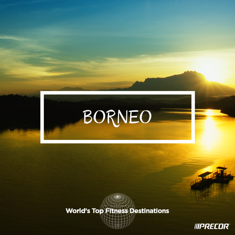 Borneo fitness destination. Photo courtesy of Flickr user Kevin Wasilin.