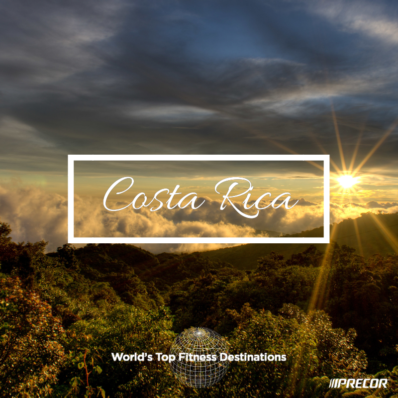 Costa Rica fitness destination. Photo courtesy of Flickr user Dennis Tang.