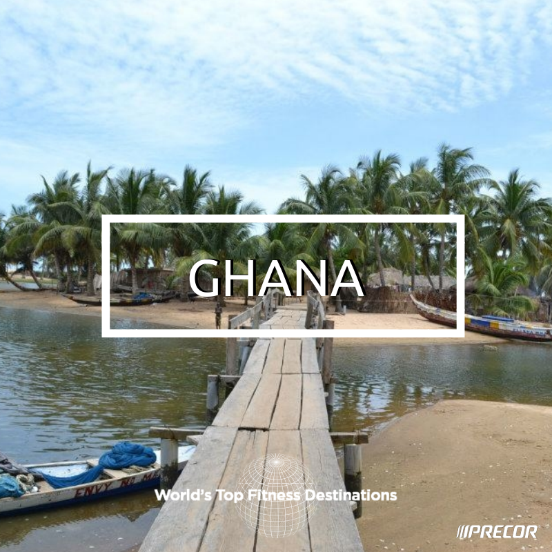Ghana fitness destination. Photo courtesy of Flickr user Frontierofficial.