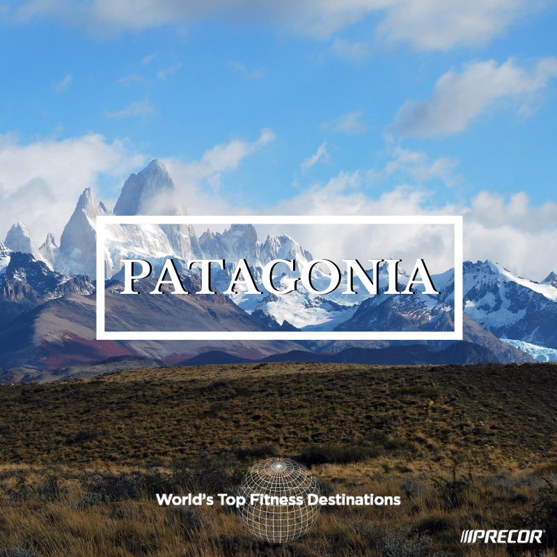 Patagonia fitness destination. Photo courtesy of Flickr user Riomanso.