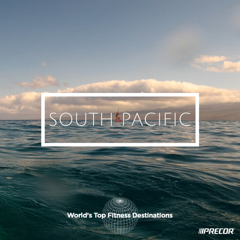 South Pacific fitness destination. Photo courtesy of Flickr user Troy McKascle.