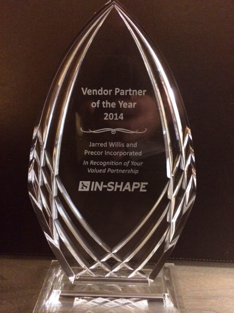 In-Shape Vendor Partner of the Year Precor