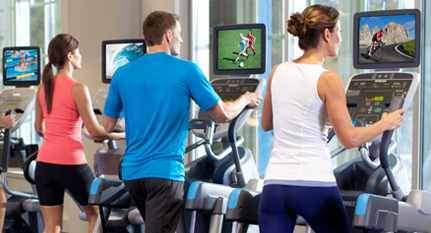 Fitness Centre media solutions