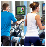 Precor provides quality media solutions