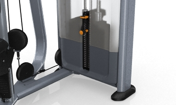 Selector pins – The parts that provide convenience of adjusting the height and length