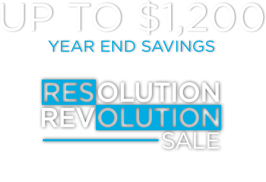 Up to $1,200 - Year End Savings - Resolution Revolution Sale - Limited Time Savings on Selected Precor Equipment