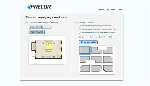 Precor Facility Space Planner