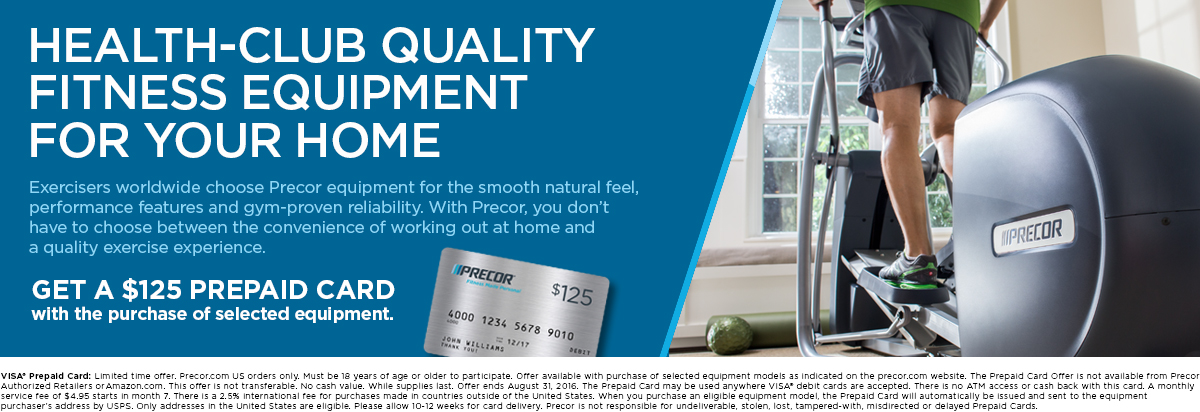 Get a $125 Prepaid Card with the purchase of selected equipment