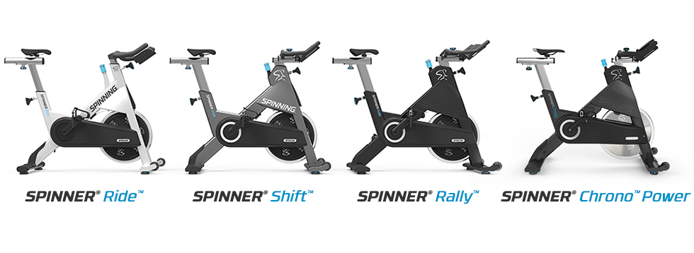 Spinner Bikes by Precor
