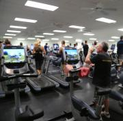 Tampa YMCA cardio room
