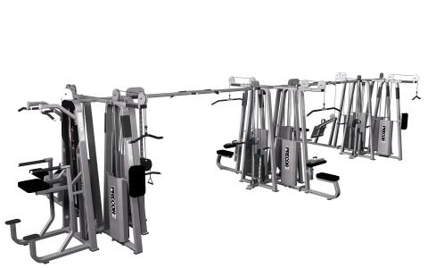 Precor Multi-Station 12-Stack CW2912