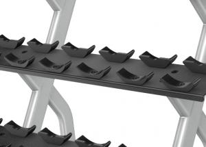 Discovery™ Series 2 Tier, 10 Pair Dumbbell Rack DBR0812