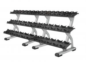 Discovery™ Series 3 Tier, 10 Pair Dumbbell Rack DBR0814
