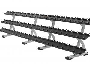 Discovery™ Series 3 Tier, 15 Pair Dumbbell Rack DBR0815
