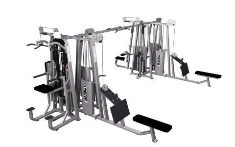 Precor Multi-Station 8-Stack CW2503