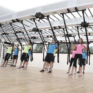See Queenax functional fitness by Precor