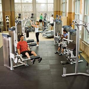 Precor in Hotel Gyms